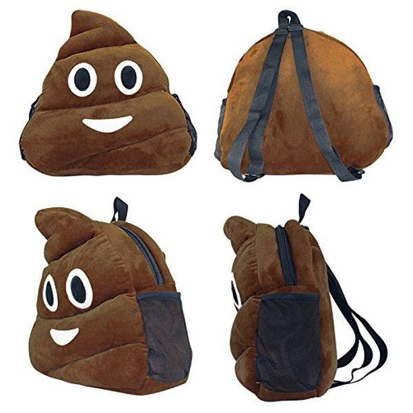 Poo Plush Backpack really strange gifts