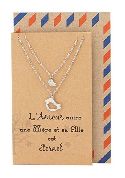 Quan Jewelry Mother Daughter Necklace