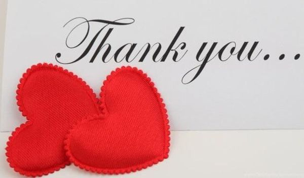 Beautiful thank you photos from your heart