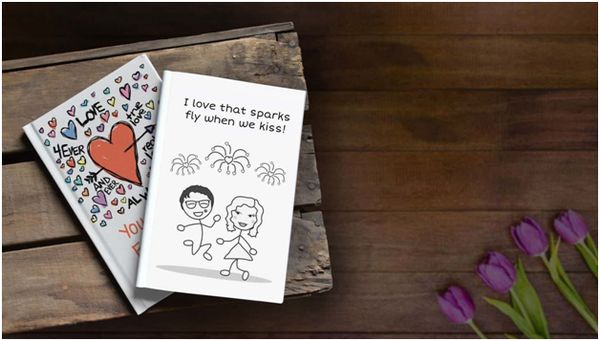 """Personalized """"What I Love About You"""" Book for Couples on Valentine's Day"""