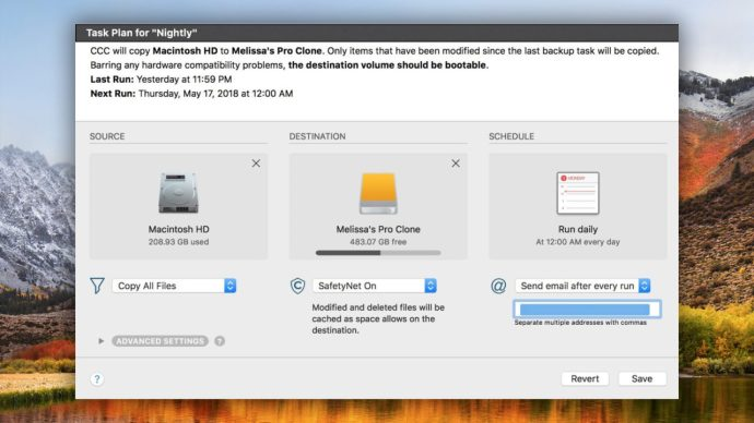 carbon copy cloner mac backup