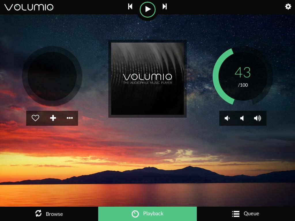 Top Five Volumio local App - Circus