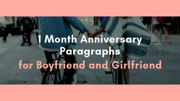 Give your for girlfriend anniversary 2 to what month Two