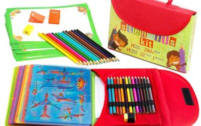 Drawing Stencil Kit for Kids