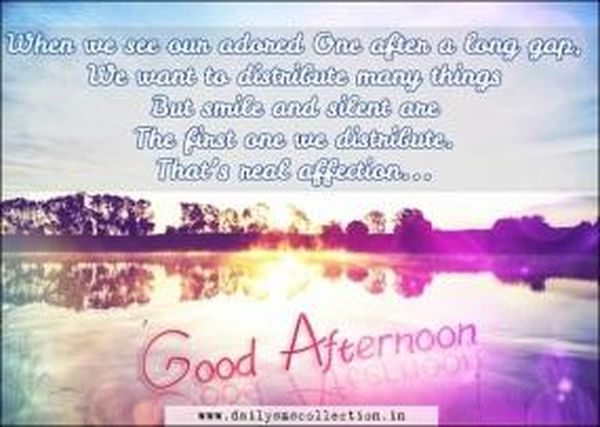 Good afternoon pictures with quotes for your friends and family members 6