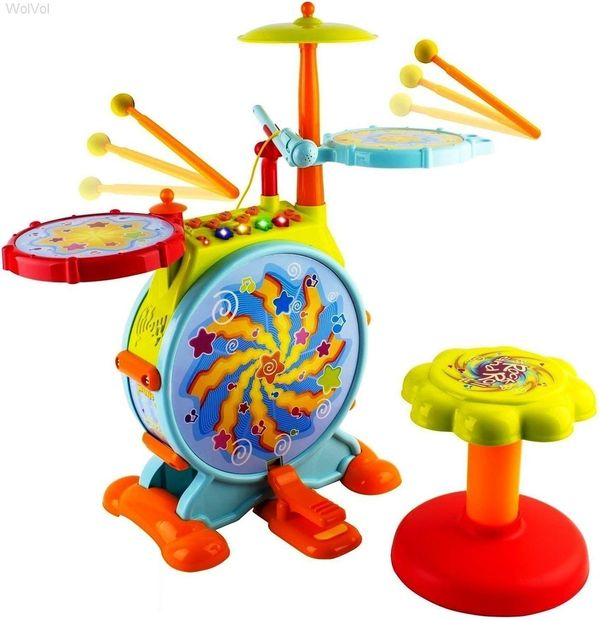 Child drum sets amazing presents for your 2 year old nephew