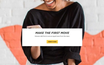 how does bumble dating app work