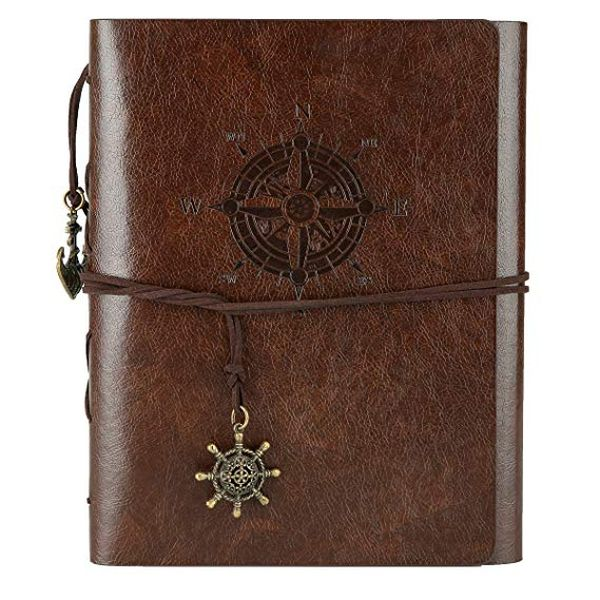 Leather Memory Book 60 Pages