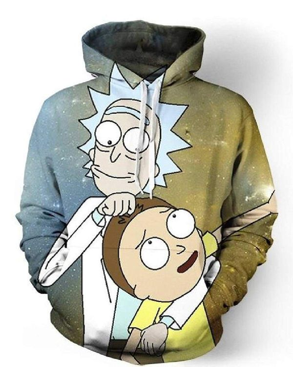 Rick and Morty jacket merchandise 1