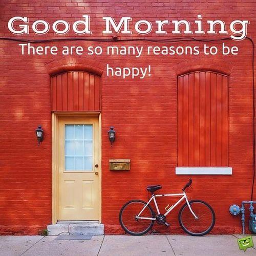 Есть так много причин для счастья