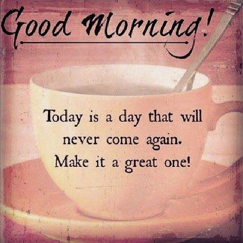 Симпатичные способы сказать доброе утро