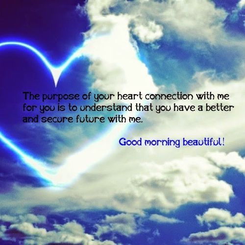 Романтическое доброе утро для нее фото
