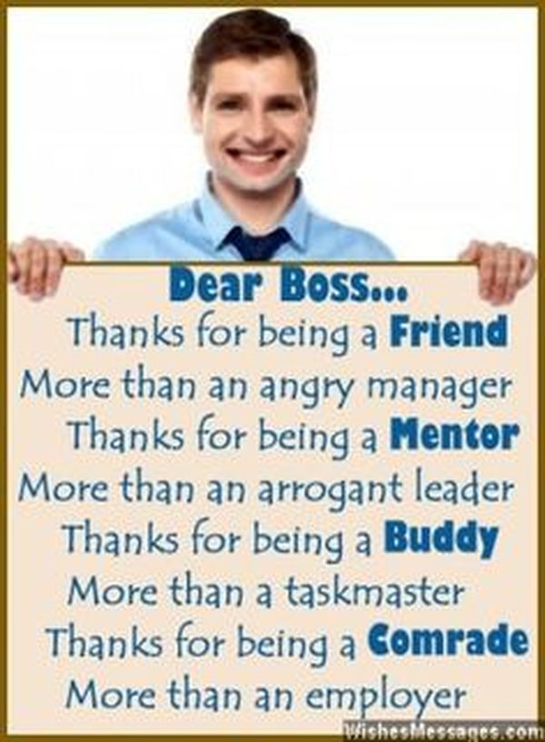 Thank you Boss!!!