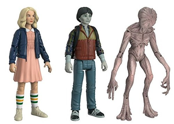 Funko Action Figures Stranger Things Eleven Will amp Demogorgan