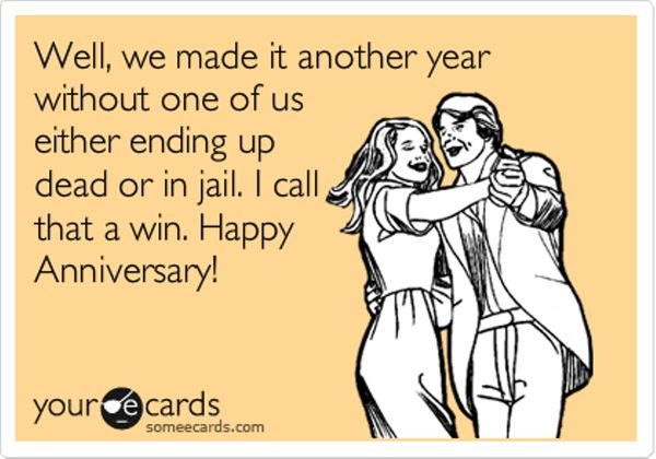 Happy Anniversary Humor