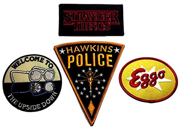 Stranger Things Patch Set of 4