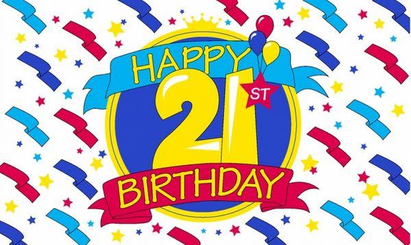 Astonishing 21st Birthday Images Graphics Free