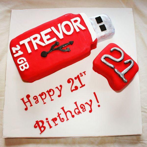 Stylish Happy 21st Birthday Photos