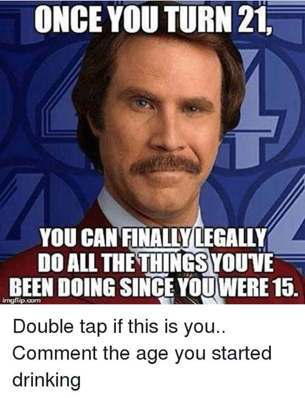 Zingy Turning 21 Meme