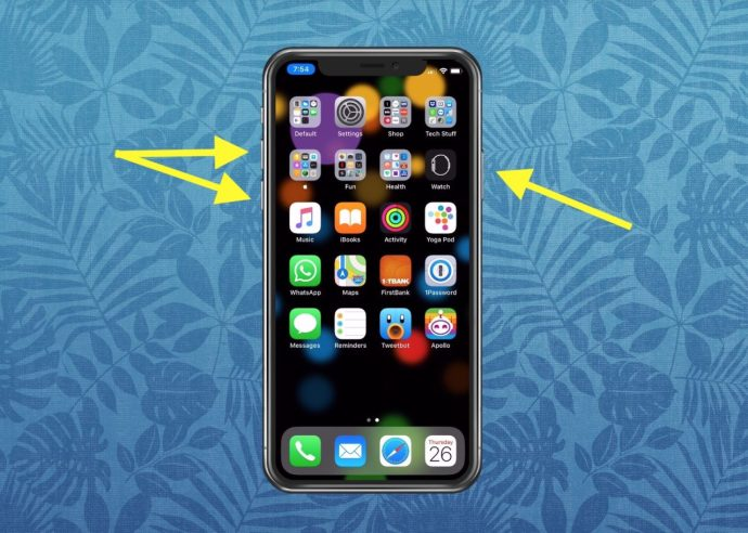Disable Face ID with Buttons