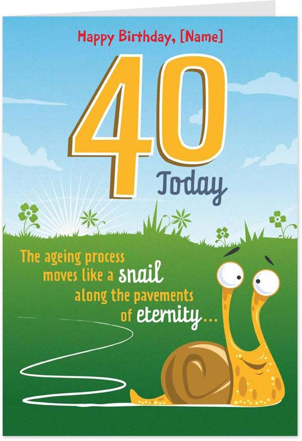 Funny 40 year old birthday pictures