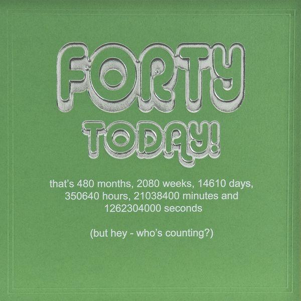Wonderful birthday greetings 40 quotes