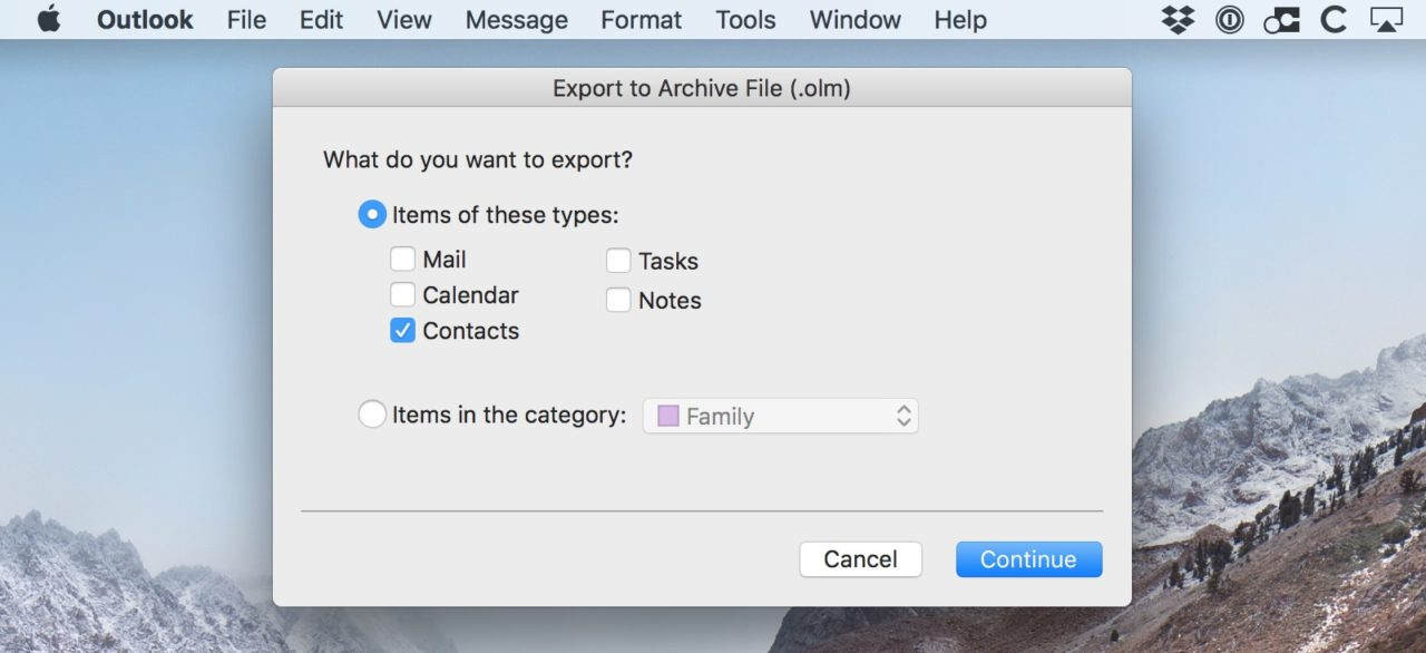 Remove duplicate contacts in outlook for mac