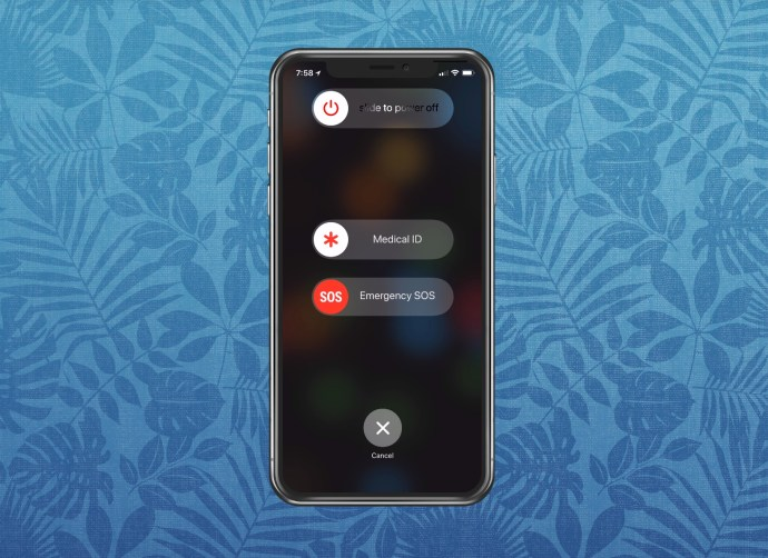 """""""Slide to Power Off"""" Screen"""