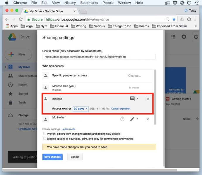 Set Expiration Dates for Shared Google Drive Files