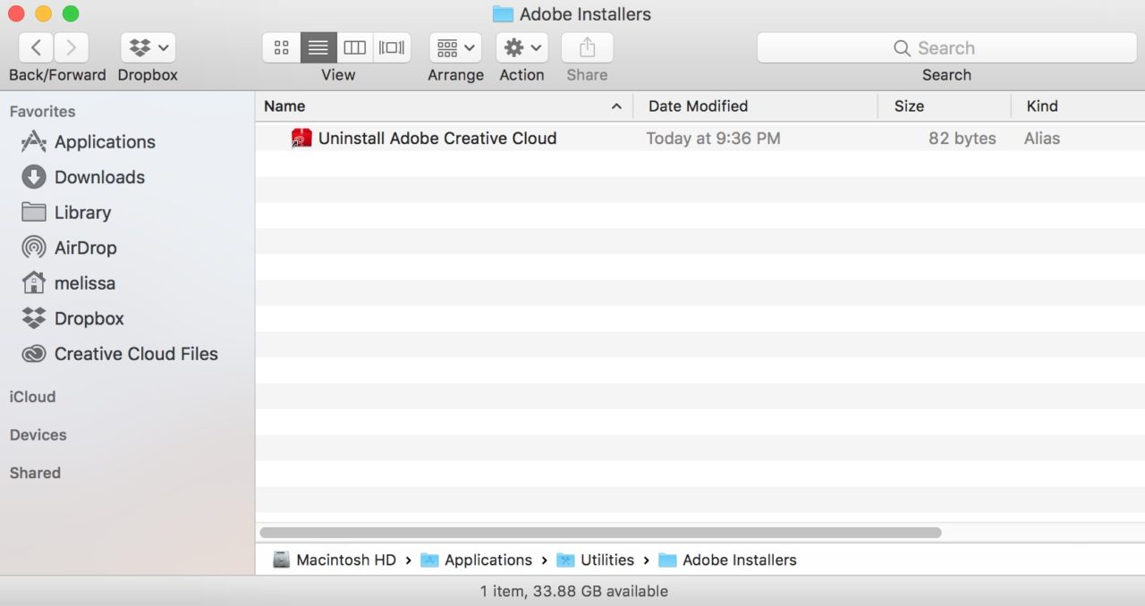How to Uninstall Creative Cloud on the Mac