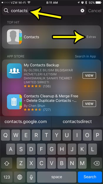 iPhone Contacts App Icon Missing – What To Do