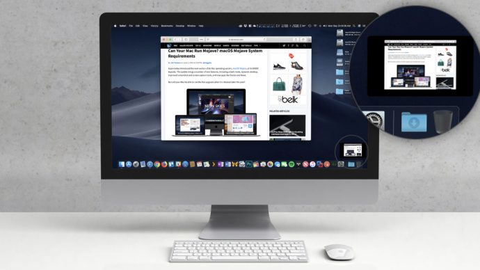 mac mojave screenshot preview