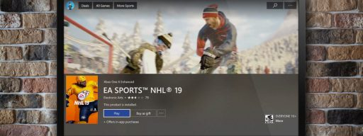 xbox store autoplay video