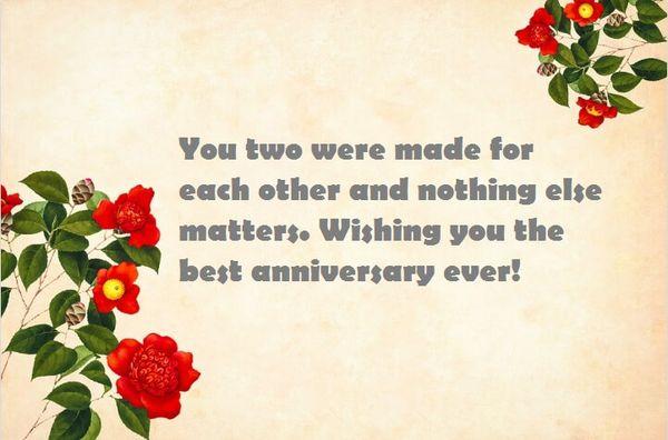 Nice Happy Anniversary to You Both Pics 4