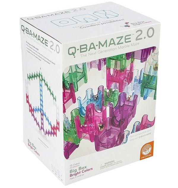 QBaMaze 2.0 Big Box Bright Colors