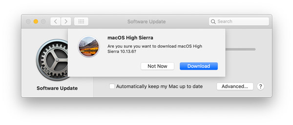 high sierra download mojave