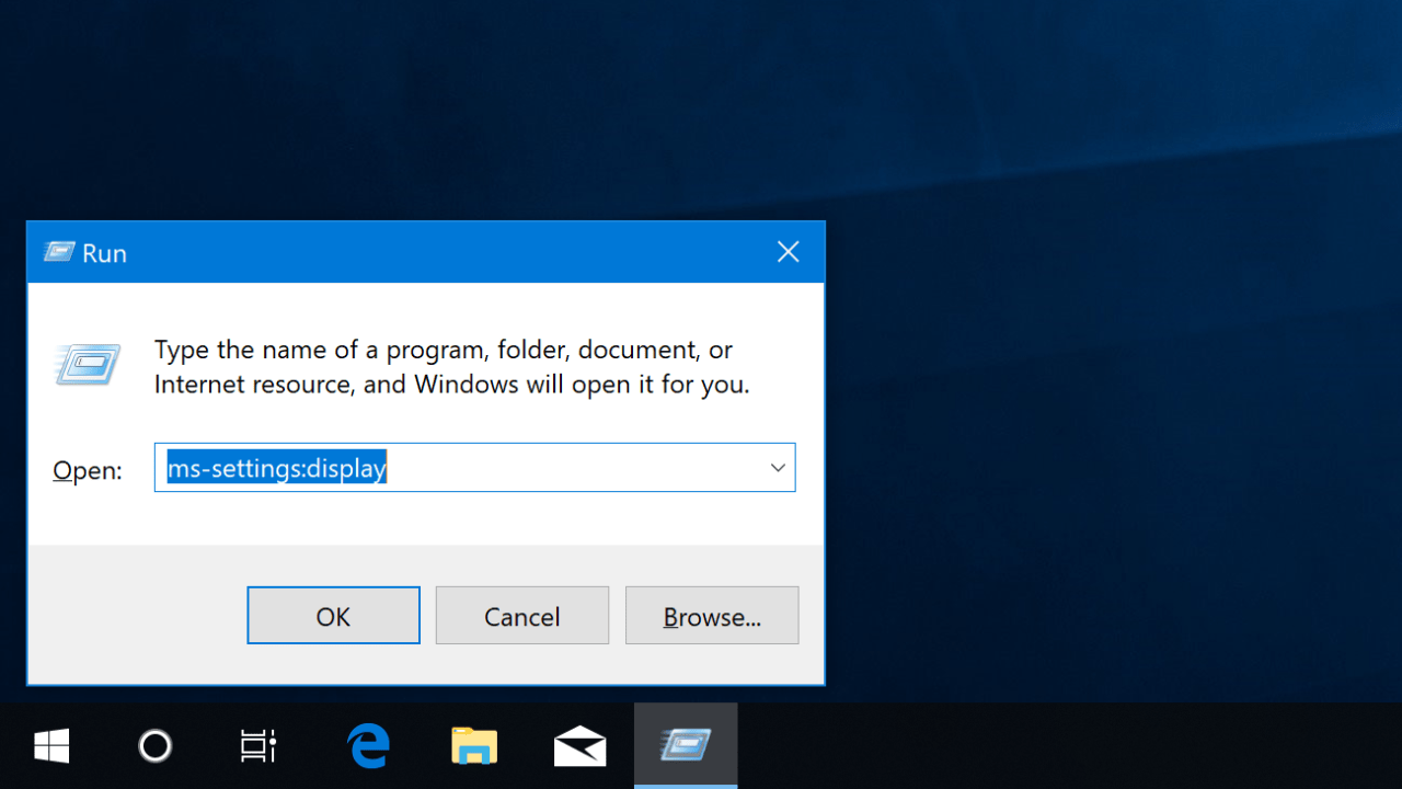 Create a Custom Windows 10 Settings Shortcut to Link to a Specific