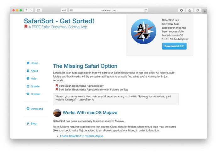 safarisort website