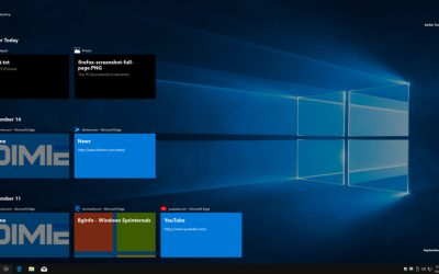 windows 10 task view timeline