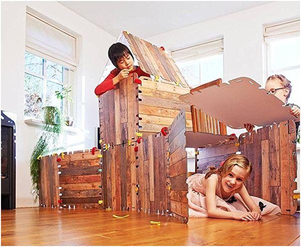 16 Piece Fantasy Fort Construction Set