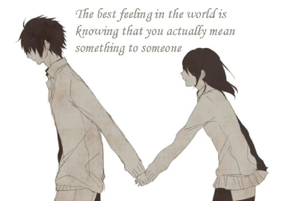 Cute anime love quotes for her 4