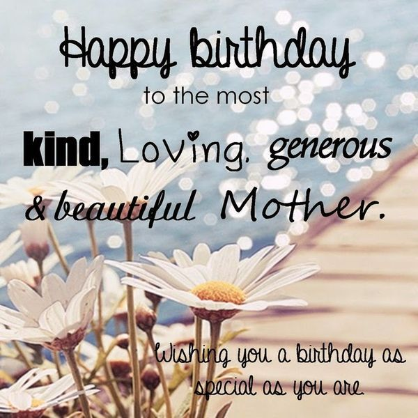 Happy Birthday Mom from Daughter Quotes
