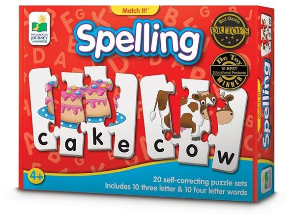 Spelling Puzzle with Matching Images