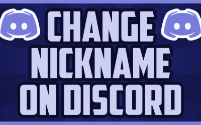 How To Change your Nickname in Discord