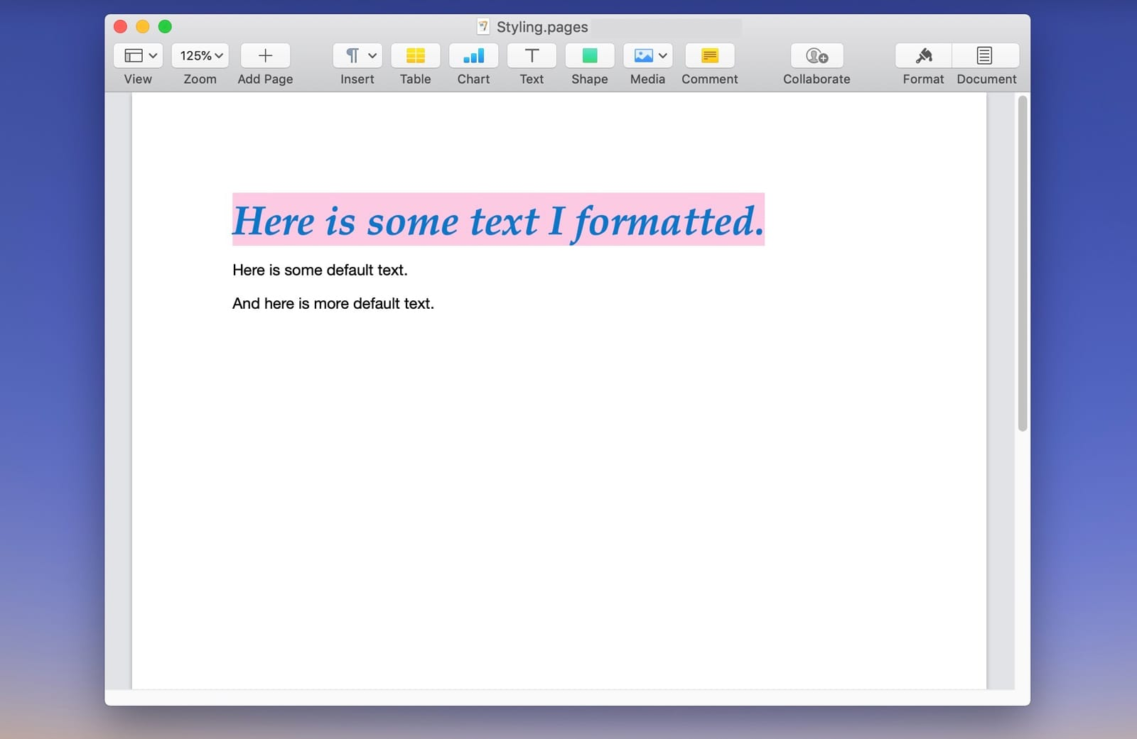 How to Copy and Paste Styles to Easily Format Text in macOS