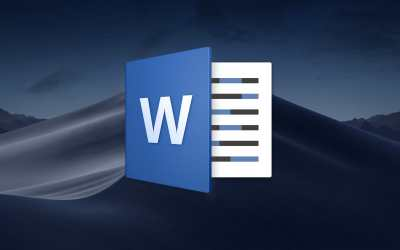 microsoft word for mac mojave