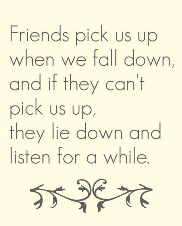 Beauty Heartwarming Quotes about Friendship and Love