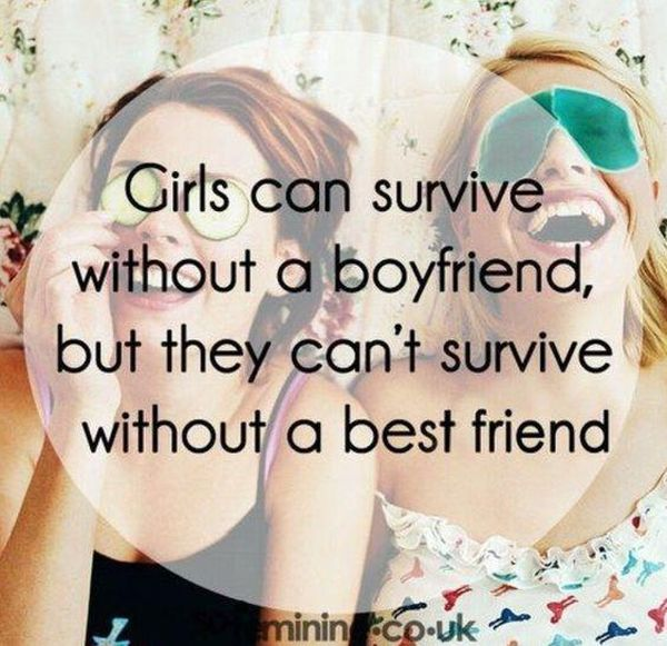 Cool Funny Best Friend Quotes for Girls