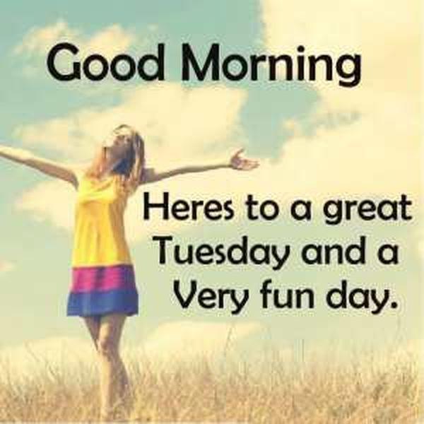 Amazing Tuesday Inspirational Images