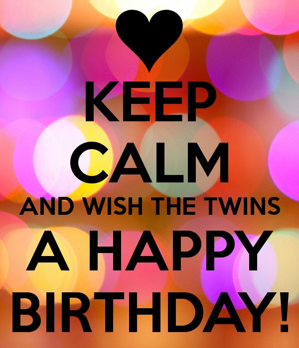 Happy Birthday Twins Quotes, Images And Memes